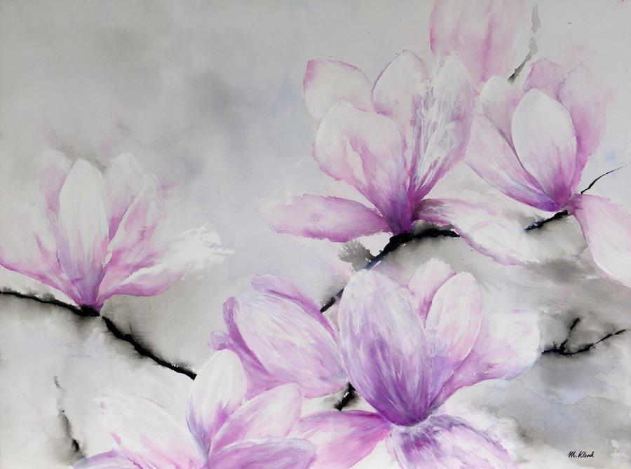 Acrylbilder-Blumen Desktop